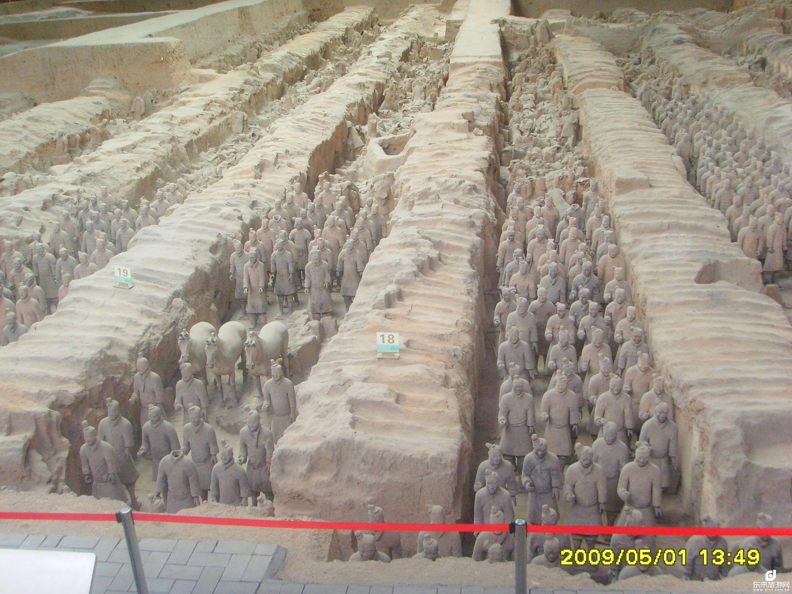 赏兵马俑、游华清宫、唐大明宫、国家宝藏陕历博、5日观光之旅