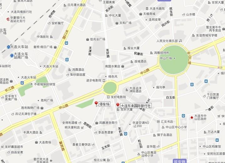 东来国旅地址地图